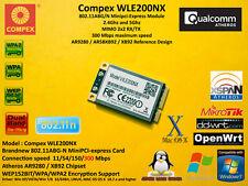 Compex WLE200NX Atheros AR9280 Minipci-E 802.11A/B/G/N 300Mbps 2x2 Mimo Dualband