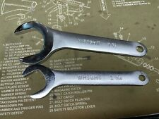 """New listing Wright brand (1)1 3/16"""" & (1)1 7/8"""" Service Wrenches - Made in the Usa"""