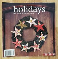 Scrapbook Trends HOLIDAYS Magazine ~ Card Decor Albums Gift Layouts Paper Crafts