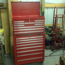 """MAC TOOLS PROFESSIONAL 88 TOP & BOTTOM ROLLER TOOL BOX CHEST 33"""" 10 & 8 DRAWER"""