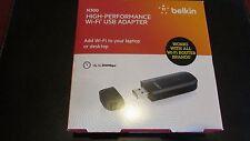 Belkin N300 Wi-Fi USB Adapter LNWB  722868818923