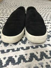 Vince Black Suede Preston Sneakers
