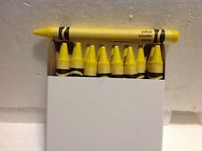 (16) Crayola Crayons (yellow) BULK