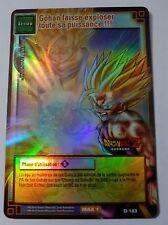 Carte Dragon Ball Z DBZ Cartes à Jouer et à Collectionner #D-183 Holo BANDAI