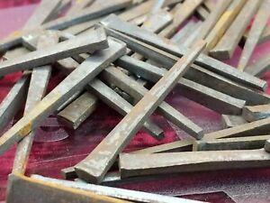 "50X lot of 2.25"" Antique Vintage Square Cut Nails, NOS restoration rehab Classic"