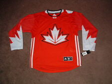Team CANADA 2016 World Cup of Hockey Premier RED Hockey Jersey SMALL NWT
