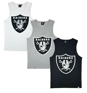 NFL Las Vegas Raiders Tank Top Mens S M L Official Team Apparel