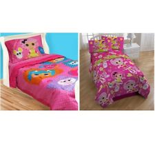 nEw Lalaloopsy Bedding Set - Button Cute Comforter Bed Sheets Pillowcase