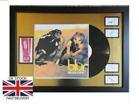 "BLUR Parklife Framed 12"" VINYL LP✅Tickets & Band Autographs MEMORABILIA  ✅"