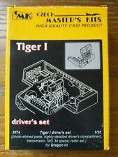 CMK 3074 1/35 Scale Tiger I Driver's Set for Dragon Kit Model Czech Master's Kit