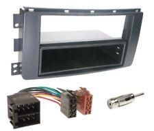 Kit montage adaptateur cadre de radio façade autoradio 1 DIN  Smart Car ForTwo 2