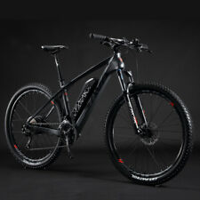 SAVA Carbon Fiber e Bike 27.5 inch Electric Mountain Bike SHIMANO 27S 36V/13Ah