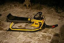 VINTAGE MURRAY GT SNO RACER FREE FLIGHT MODEL WITH BRAKES AND PULL CORD