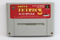 Super TETRIS 3 SFC Nintendo Super Famicom SNES Japan Import US Seller I5914