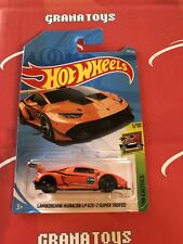 Lamborghini Huracan LP 620-2 Super Trofeo #268 Orange 2018 Hot Wheels Case M