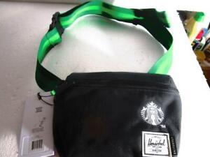 2021 Starbucks Coffee HERSCHEL HIP BLACK  bag brand new with tag