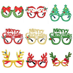 12 Pack Christmas Novelty Sunglasses Fancy Dress Glasses Party Photo Booth Props