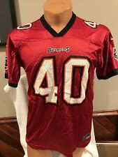 VINTAGE Mike Alstott Tampa Bay Buccaneers Youth XL 18-20 Nike Jersey 44fe1e5bf