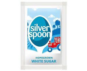 Silver Spoon White Granulated Sugar Individual Sachets