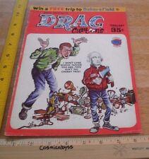 1965 Pete Millar's Drag Cartoons #12 Alex Toth Rick Griffin art magazine hot rod