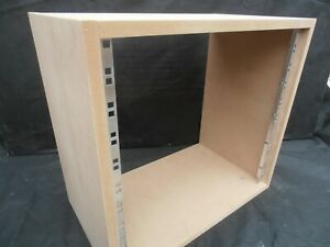 "10u UNIT 19"" INCH RACK CABINET RECORDING STUDIO FURNITURE 400mm deep"
