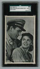 "SGC 4.5  JOHN WAYNE & DONNA REED  ""They were Expendable"" Kwatta LARGE CARD"