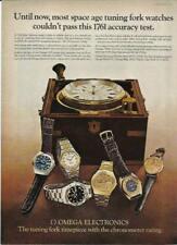 1970s Omega Watch Mens 1973 Original Photo Vintage Print Ad Decor
