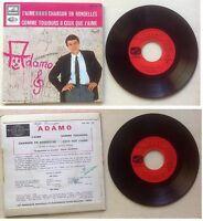 Adamo Disque Super 45T vinyl 4 titres J'aime vintage