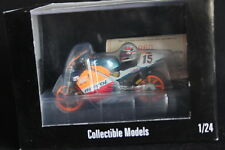 2Wheels Honda NSR/V500 1998 1:24 #15 Sete Gibernau (ESP) (with helmet)