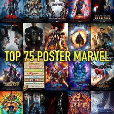 Poster marvel locandina film Marvel arredamento per stanza casa collection -50%