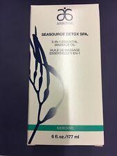Arbonne Seasource Massage Oil 5 in 1 Essential Detox Spa RARE 177ml New in Box