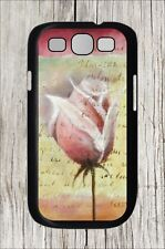 ROSE ROMANTIC FLOWER FOR SAMSUNG GALAXY S3 CASE COVER -hdf5Z