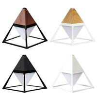 USB Table Lamp Pyramid Shape Touch Control Eye Caring Light for Nursery Bedroom