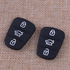 3 Button Remote Flip Key Fob Case Repair Silicone Pad fit for Hyundai IX35 I30