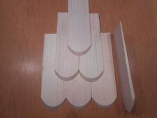100 Holzschindeln Dachschindeln Holzschindel 5x15 cm  schindeln schindel