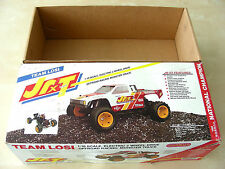 Vintage Original 1989 Team Losi JRXT EMPTY KIT Box in Super MINT Condition RARE!
