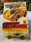 Hot Wheels Redline FLYING COLORS MONTE CARLO STOCKER, Yellow, #7660 UNPUNCHED