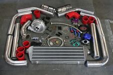 Universal T3/T4 T04E Hybrid Turbo Kit Turbo Starter Kit .57AR Turbo Charger Kit