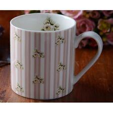 Katie Alice BELLE Tazza Cina-Cottage-Fiore rosa a righe-Gamma Completa Disponibile