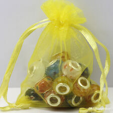 Wholesale 100Pcs Organza Jewelry Packing Pouch Wedding Favor Candy Gift Bags