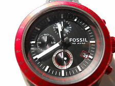 FOSSIL CHRONOGRAPH MEN'S ANALOG WATCH.CH-2789.QUARTZ,BATTERY,WATER RESISTANT