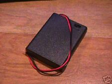 "RADIO SHACK ""AAA"" BATTERY HOLDER WITH SWITCH- FREE SHIP"