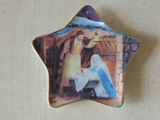 William Luberoff ~ O Holy Night ~ Limited Additio Fine Porcelain Wall Plate