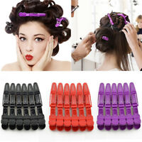 6Pcs Professional Salon Hairdressing Haircut Grip Clips Clamps Hair Styling Tool