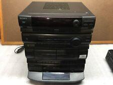 Sony LBT-D270 Compact Hi-Fi Stereo 5 CD Changer Dual Cassette PARTS/REPAIR *READ