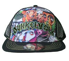 Dunkelvolk Graff World Peruvian Contemporary Art Snapback Baseball Trucker Hat