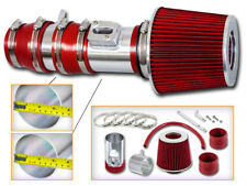 BCP RED For 08-12 Accord & CrossTour 3.5 V6 TL Racing Air Intake Kit +Filter