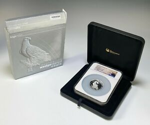 2016 Australian Wedge Tailed Eagle 5oz $8 Silver Proof Coin NGC PF70 Ultra Cameo