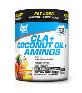 BPI Sports CLA + Coconut Oil + Aminos: EAA Fat Burner for Weight Loss & Recovery