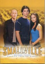 Inkworks Smallville Season 3 Complete 90 Card Base Set